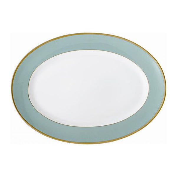 Arc en Ciel 14 Inch Platter | Mint - GDH | The decorators department Store