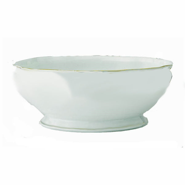 Colette Gold Salad Bowl - GDH | The decorators department Store