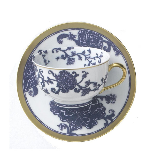 Sultane Breakfast Cup & Saucer by R Haviland & C Parlon