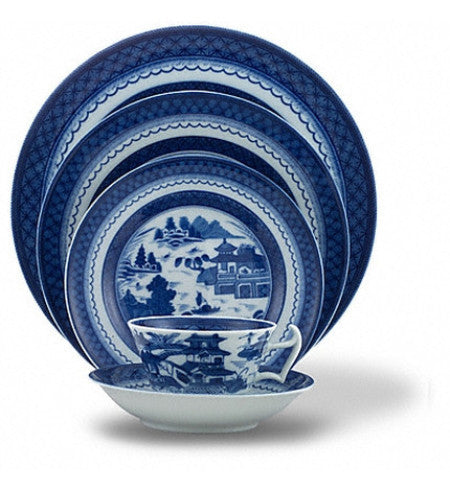 Blue Canton Dinnerware Collection by MOTTAHEDEH - GDH | The decorators department Store