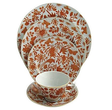 Mottahedeh Sacred Bird and Butterfly Dinnerware Collection - GDH | The decorators department Store - 1