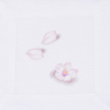 Blossom Linen Cocktail Napkin-Set of 4 - GDH | The decorators department Store