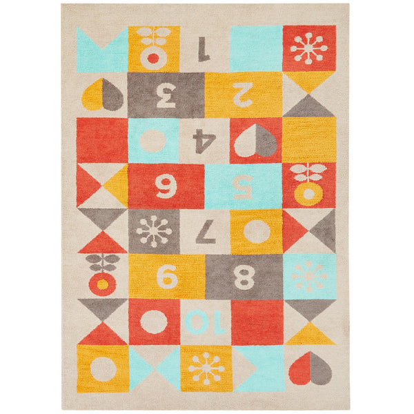 Petit Collage Hopscotch Rug - GDH | The decorators department Store