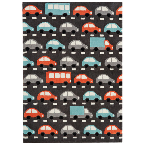 Petit Collage Traffic Rug - GDH | The decorators department Store