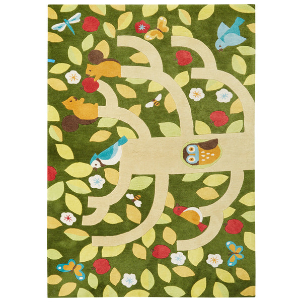 Collage Treetop Rug - GDH | The decorators department Store