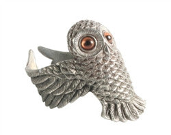 Owl Napkin Ring S/4 - GDH | The decorators department Store