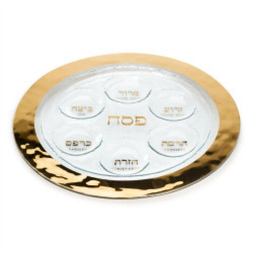 Annieglass Judaica Seder Plate - GDH | The decorators department Store