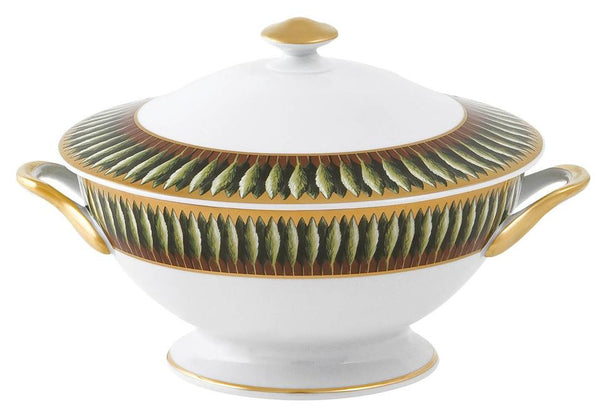 Jardins de Florence Footed Soup Tureen With Lid