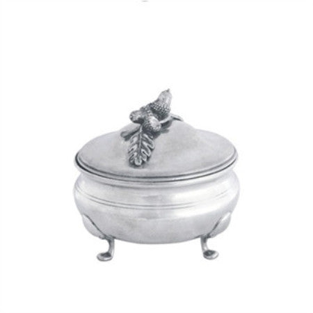 Acorn & Oak Leaf Pewter Sauce Bowl  Vagabond House - GDH | The decorators department Store