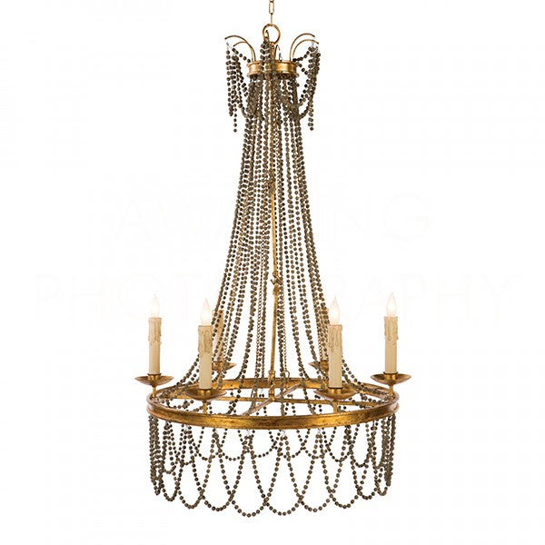 Amber Chandelier| Brown
