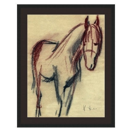 Horse Sketch - GDH | The decorators department Store