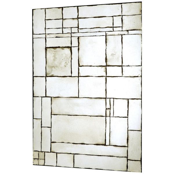 Leger Large Antique Mirror Leger Mirror - GDH | The decorators department Store
