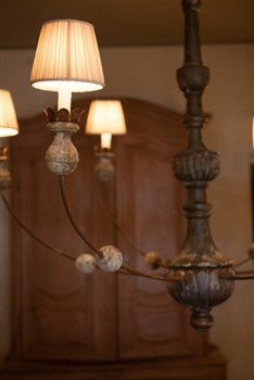 Sheer Silk Empire Chandelier Shade - GDH | The decorators department Store
