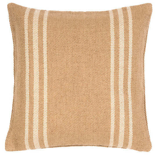 Lexington Ivory/Camel Indoor/Outdoor Pillow - GDH | The decorators department Store