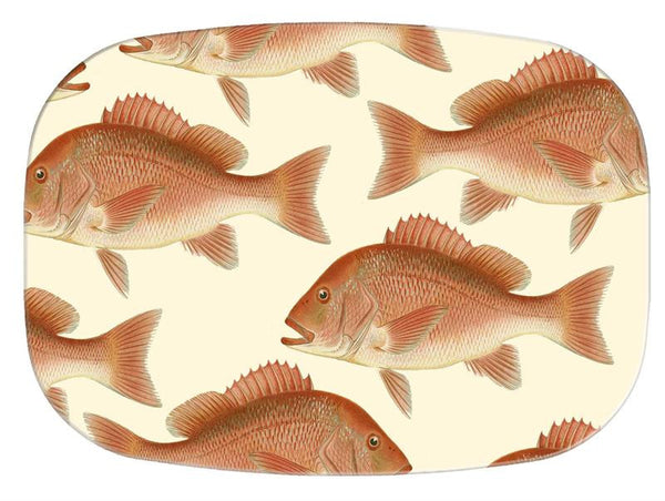 Red Snapper Glass Cutting Board