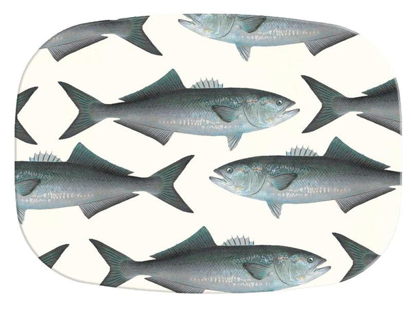 Bluefish Glass Cutting Board