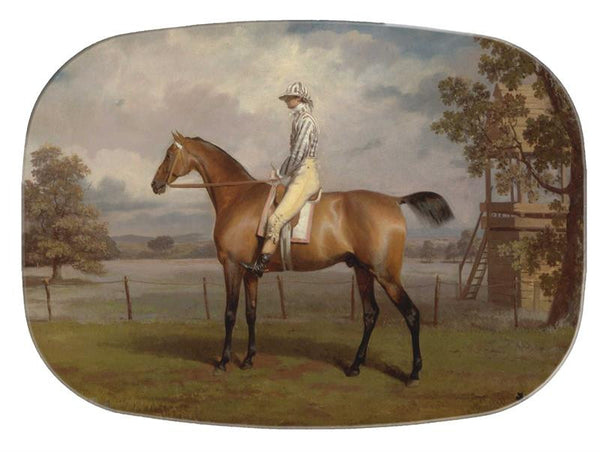 The Race Horse Glass Cutting Board