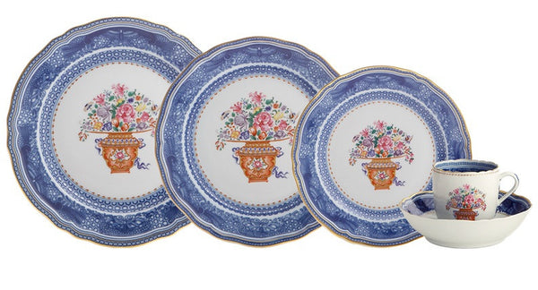 MOTTAHEDEH Mandarin Bouquet Dinnerware Collection - GDH | The decorators department Store - 1