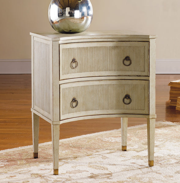 Modern History Home Painted Gustavian Bedside Chest