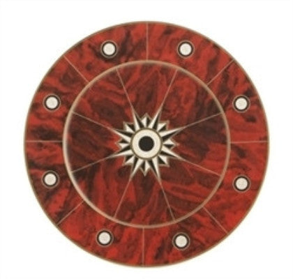 Mottahedeh Tortoise Shell Service Plate by Tony Duquette - GDH | The decorators department Store