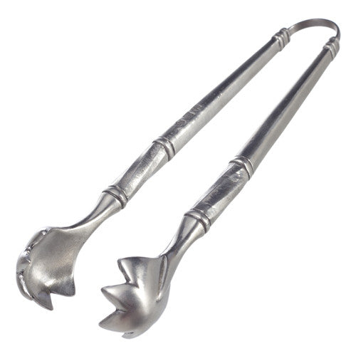 Match Pewter Ice Tongs