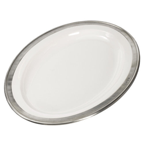 Match Pewter Convivio Small Oval Platter - GDH | The decorators department Store