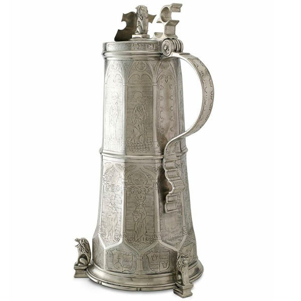 Match Pewter Engraved Beer Stein