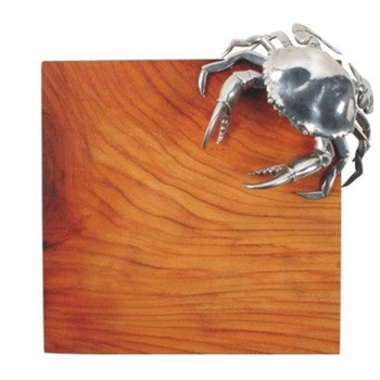 Crab Makha/Pewter Cheese Board - GDH | The decorators department Store