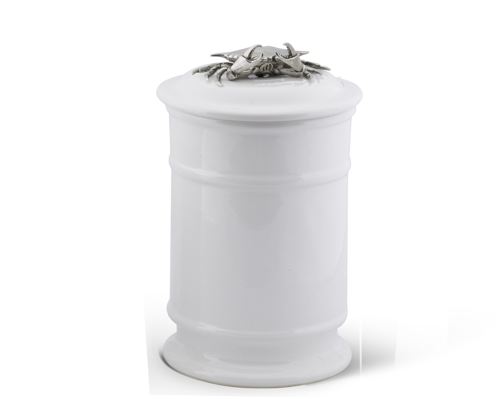 Crab Stoneware Canister