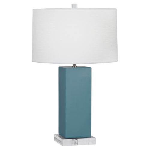 Harvey Table Lamp | Steel Blue