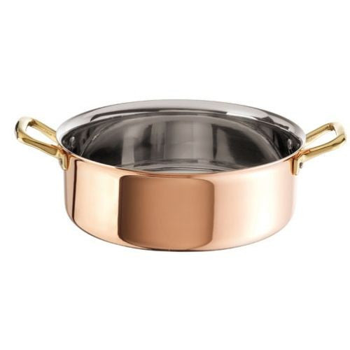 Copper with Stainless Steel Finish Rondeau - GDH | The decorators department Store