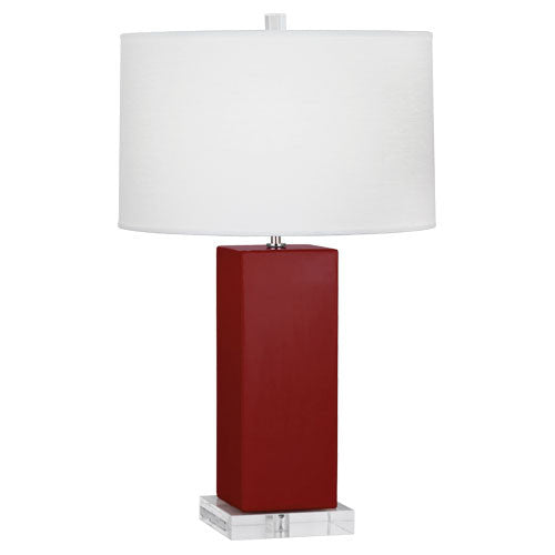Harvey Table Lamp | Oxblood