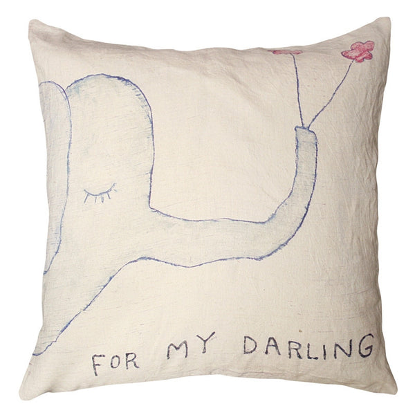Blue - For My Darling Pillow - GDH | The decorators department Store