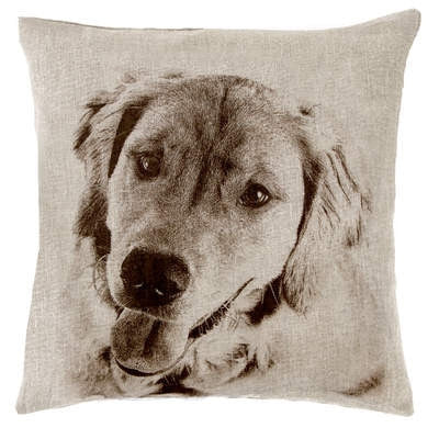 Golden Retreiver Decorative Pillow - GDH | The decorators department Store - 1