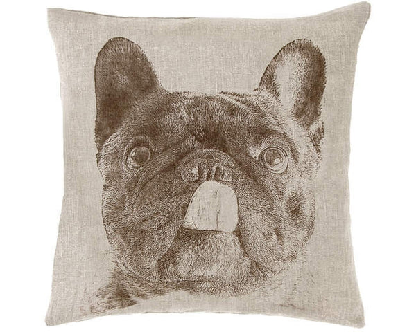 French Bulldog Decorative Pillow - GDH | The decorators department Store - 1
