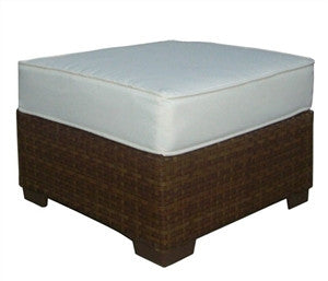 Panama Jack St Barths Ottoman w/cushion - GDH | The decorators department Store