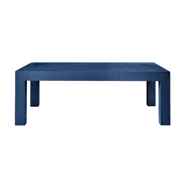 Parsons Coffee Table - Blue - GDH | The decorators department Store