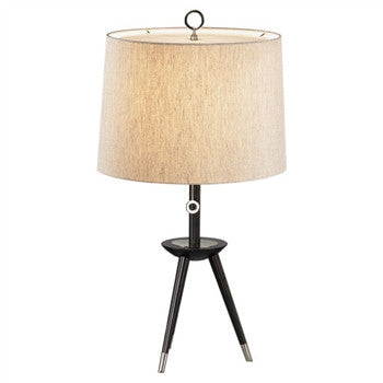 Jonathan Adler Ventana Table Lamp | Nickel - GDH | The decorators department Store