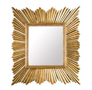 Raymond Gold Mirror - GDH | The decorators department Store