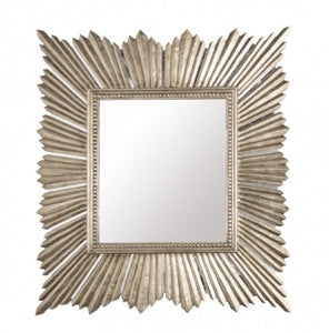 Raymond Silver Mirror - GDH | The decorators department Store