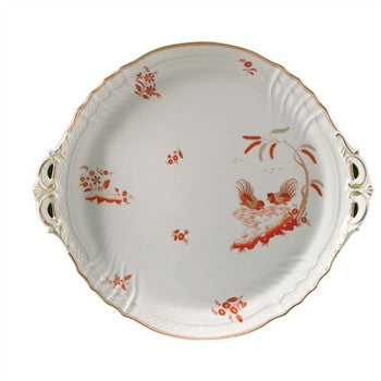 Richard Ginori Galli Rossi Cake Plate - GDH | The decorators department Store