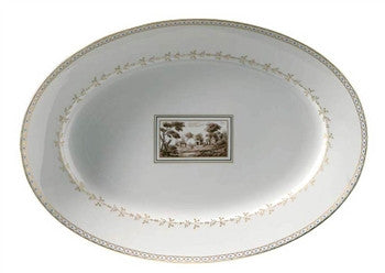 Richard Ginori Fiesole Platter 13 Inches - GDH | The decorators department Store