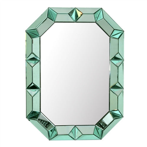 Romano Wall Mirror | Green - GDH | The decorators department Store