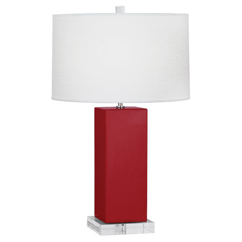 Harvey Table Lamp | Ruby Red