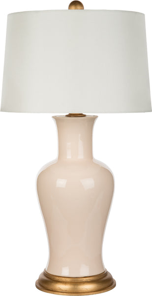 Amelie Pink Couture Table Lamp