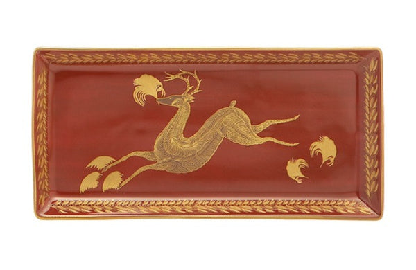 Mottahedeh Leaping Reindeer Pencil Tray - GDH | The decorators department Store