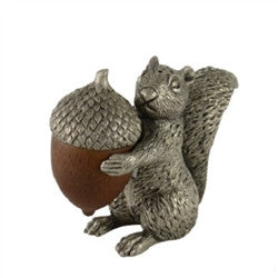 Squirrel with Wood Acorn Salt & Pepper Set - GDH | The decorators department Store