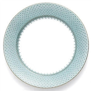 Mottahedeh Lace Service Plate - Green - GDH | The decorators department Store