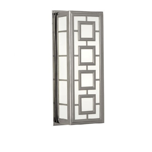Jonathan Adler Parker Wall Sconce | Polished Nickel - GDH | The decorators department Store