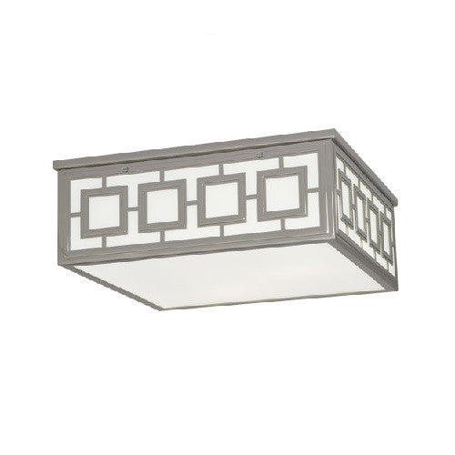 Jonathan Adler Parker Flushmount Fixture | Polished Nickel - GDH | The decorators department Store